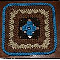Simply granny square a week, carré 3 et 4