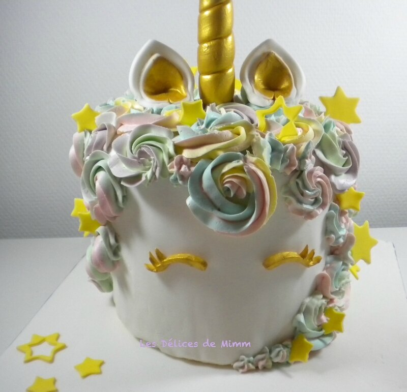 Le gâteau licorne 6