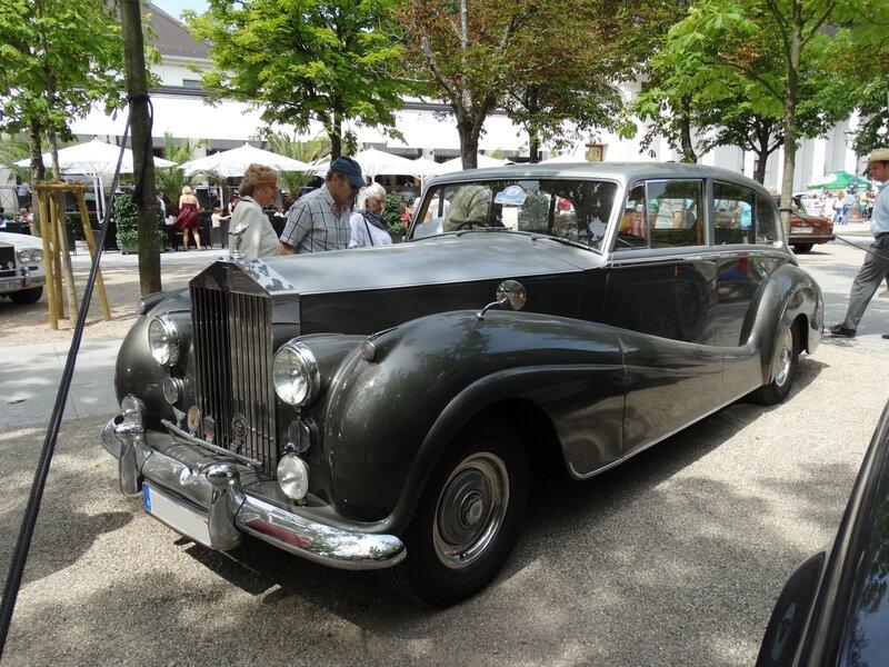 ROLLS ROYCE Silver Wraith Park Ward Touring Saloon 1955 Baden Baden (1)