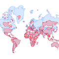 The true size of every country in the world