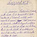 07 - rapport n°3 - 0785 - fattaccini don matteo - garde chasse en 1936