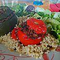 Idée repas légumes farcis