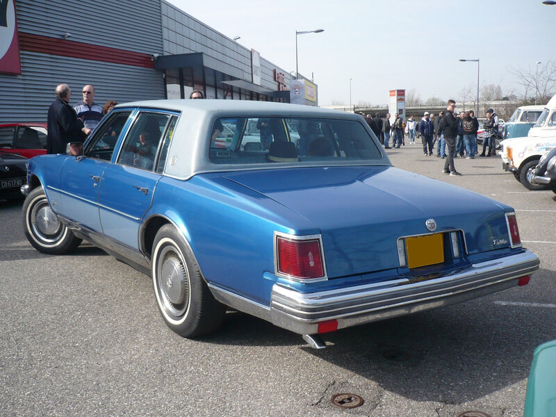 CADILLAC Seville 4door Sedan 1976 Mulhouse (2)