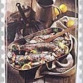 Poissons - Truites au lard