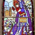 Chapelle Notre Dame du Rugby, vitrail