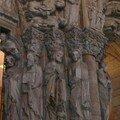 Porte de la Gloire(détail9)-Cathédrale