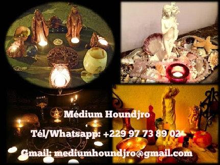 Medium houndjro, spécialiste des travaux d'amour, retour de l'être aimé et magie occultes