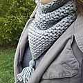 trendy snood tricotin tricot lilybouticlou
