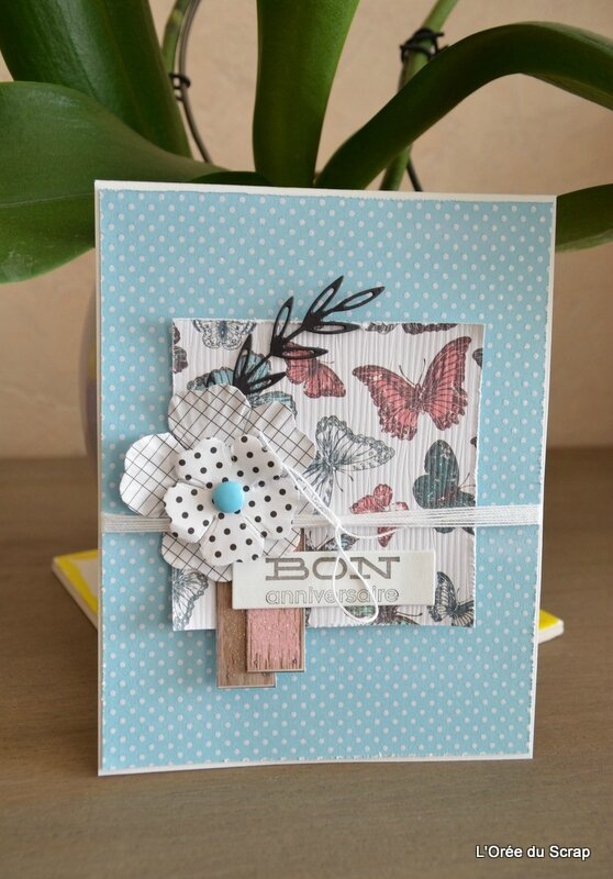carte fleurs et papillons scrap and co blogorel