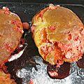 Baguettines briochées aux pralines roses