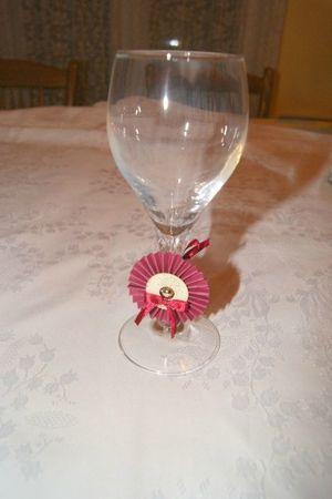 rosette de verre