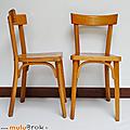 Petit mobilier ... chaises bistrot * baumann
