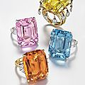 Four colored rings at christie's, 14 april 2015, new york