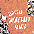 Israeli apartheid week 2017