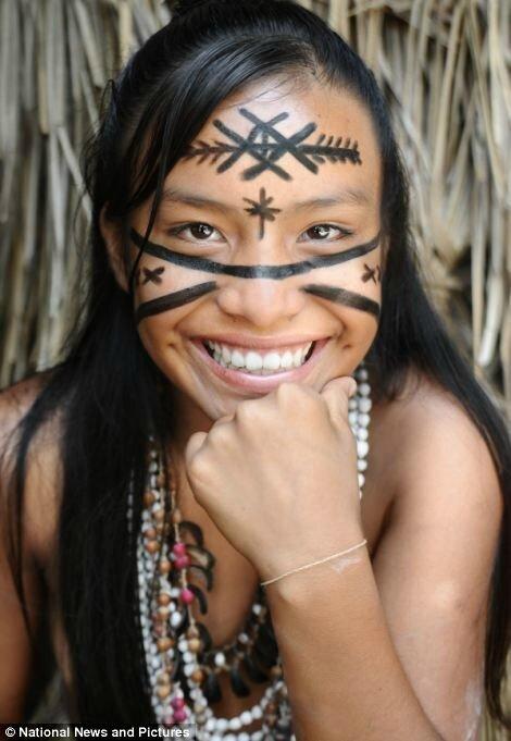 femme d'amazonie