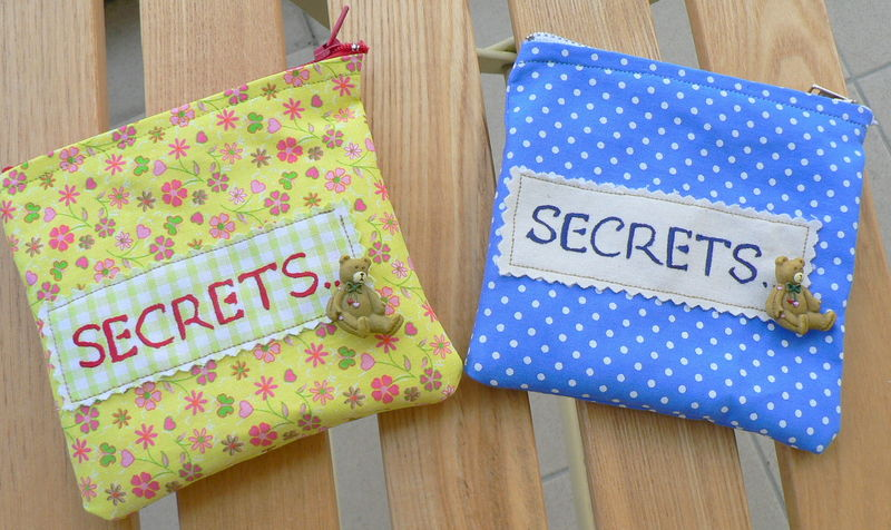 Pochettes à secrets