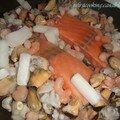 Risotto aux fruits de mer / saumon