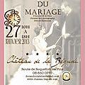 Atelier du mariage à opio chateau de la bégude le 27 janvier
