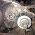 Démontage du moteur