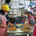 Activité de cuisine à l'école: au menu, cari japonais