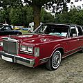Lincoln town car 1st generation-1983