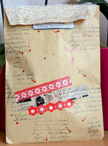 Mail Art Maud verso - Avril 2014