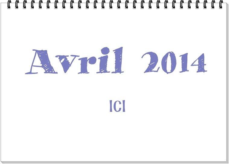 AVRIL 2014 BOOK