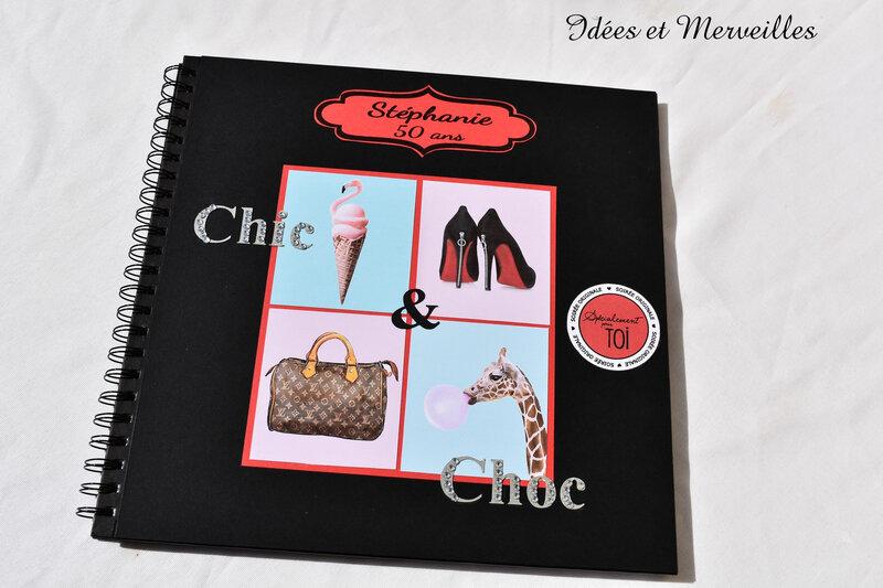 livre d'or thème Chic détail Choc - Idées et Merveilles