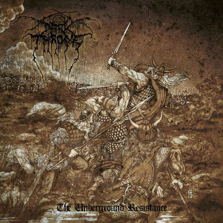DARKTHRONE The Underground Resistance cover