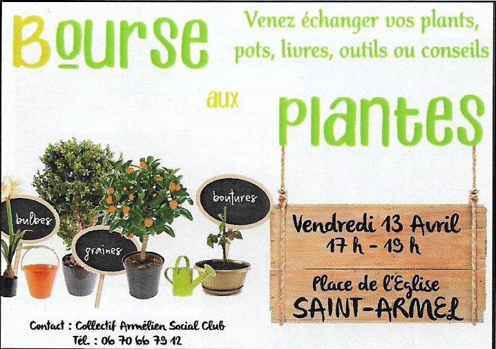 bourse aux plantes 13avril18