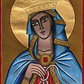 Marie qui défait les noeuds