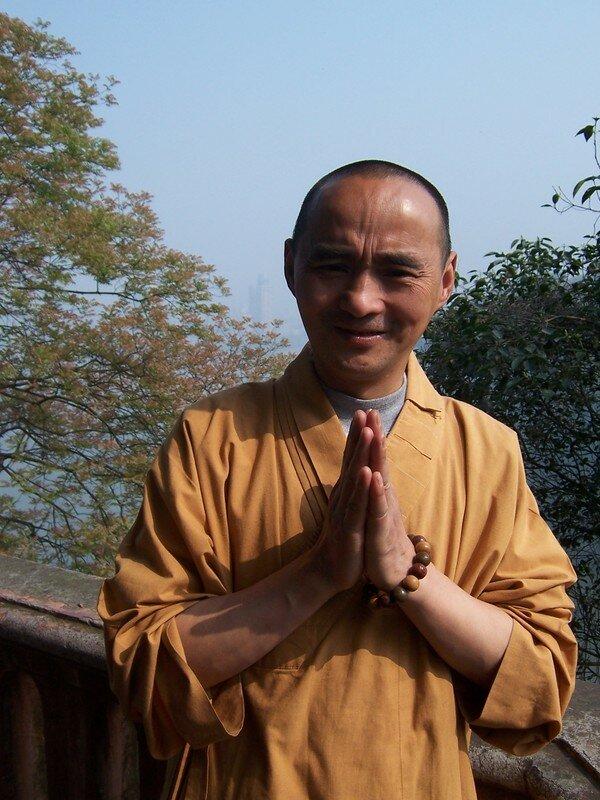 Le petit moine qui nous a fait visité son monastère...