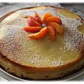 Gâteau magique aux abricots