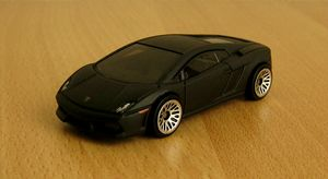 Lamborghini gallardo de chez Hotwheels 01