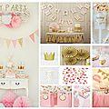 Inspirations anniversaire enfant 2015 #1 : fairy party !
