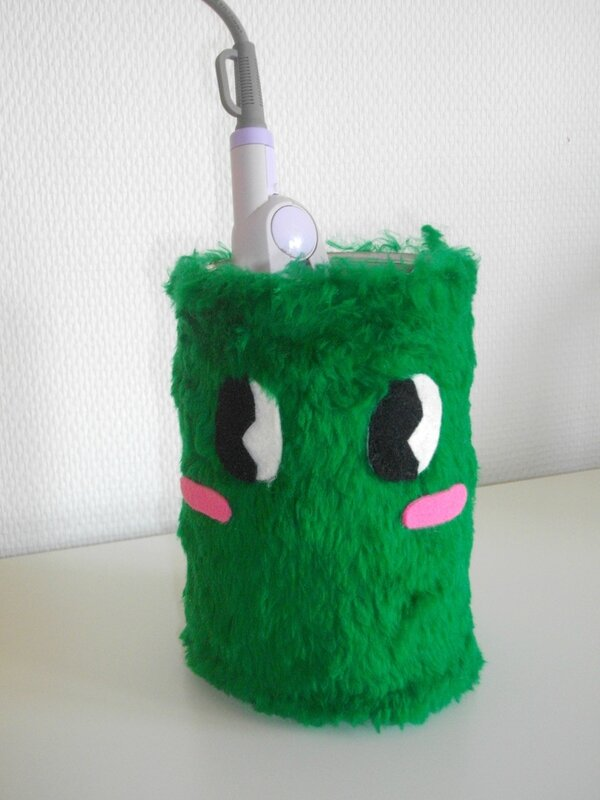 diy pot fer à lisser kawaii