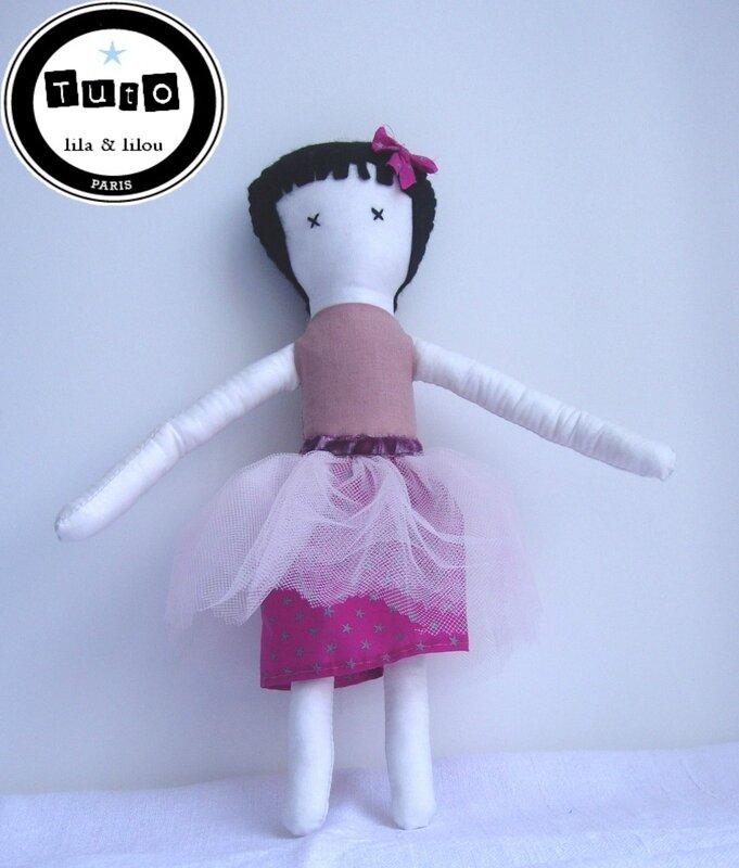 tuto poupée rose