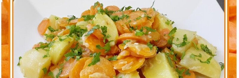 pommes de terre et carottes à la crème au multicuiseur