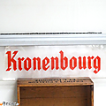 Objet pub ... enseigne lumineuse kronenbourg *
