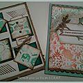 Cartes aquarellées
