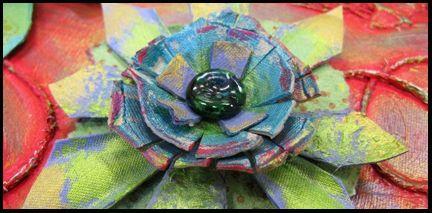 Fleur bandeau