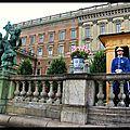 Devant le palais royal, Stockholm