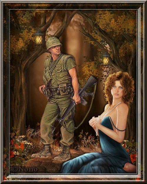 la belle et le soldat
