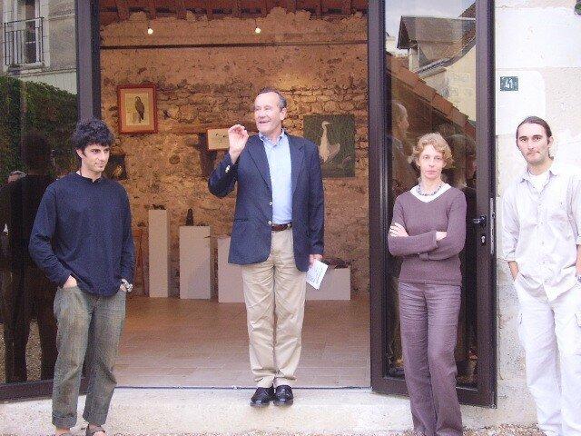 Vernissage par Pierre Louault de l'exposition