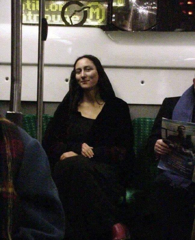 Mona Lisa Métro