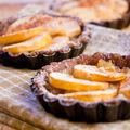 Tartelettes cacaotées aux pommes