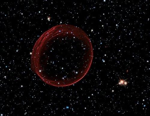 bulle de gaz large de 23 années-lumière