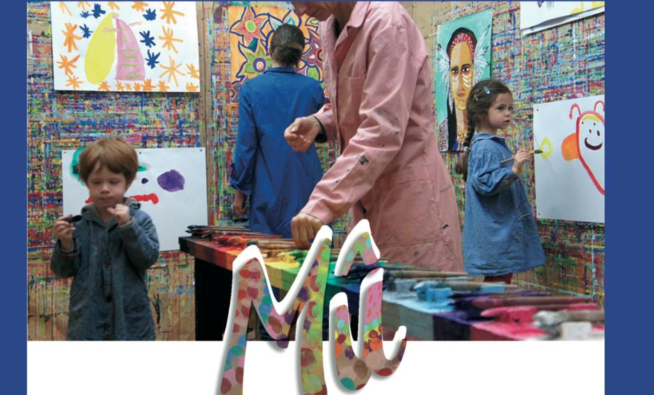 l'enfant, l'adolescent ou l'adulte peint sans modèle