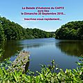 Balade d'automne du cap72