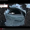 découverte d'un « portail » ou 'une ancienne base secrete nazie en antarctique